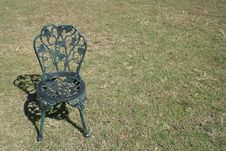 Free Metal Chair Royalty Free Stock Photo - 178785