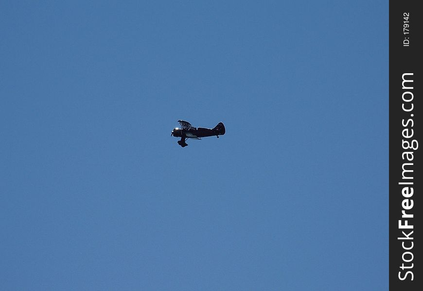 Prop Jet in the Air