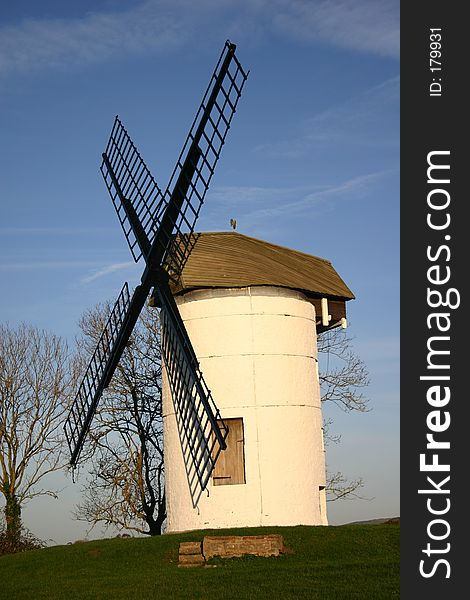 Small English windmill