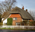 Free Thatched Village Cottage Royalty Free Stock Image - 1703326