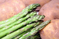 Free Asparagus And Potatoes Royalty Free Stock Photos - 1704528