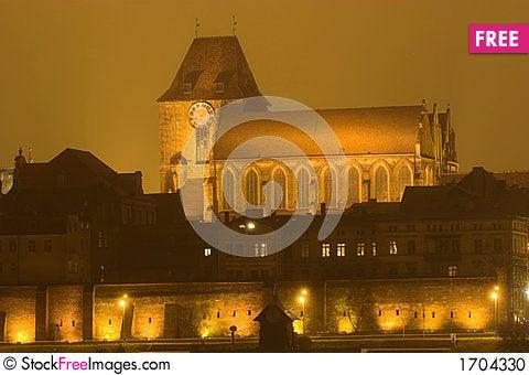 Old Town, Torun Stock Photo