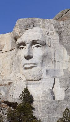 Free Lincoln - Mount Rushmore Stock Images - 1700104