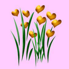 Love In Bloom Royalty Free Stock Photo