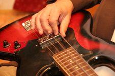 Free Guitarist Stock Image - 1700521