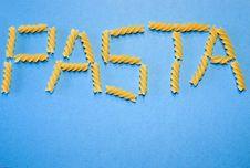 Free Pasta Stock Photo - 1702050