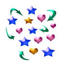 Free Love Match Art Royalty Free Stock Image - 1702126