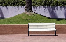 Free White Bench Royalty Free Stock Images - 1702139