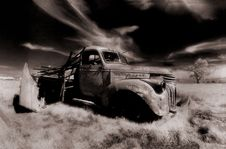 Free Old Truck Stock Image - 1702461