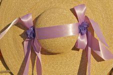 Free Straw Bonnet II Royalty Free Stock Photos - 1703098