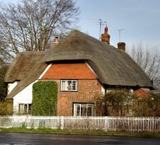 Thatched Village Cottage Royalty Free Stock Image
