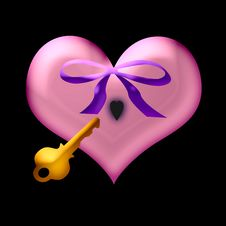 Free Valentine Key Stock Photo - 1703700