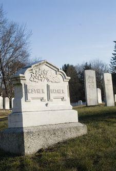 Parent Grave Stock Photography