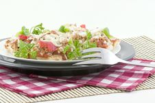 Free English Muffin Pizzas Royalty Free Stock Photography - 1704547