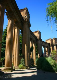 Free Palace Of Fine Arts, San Francisco Royalty Free Stock Image - 1706156
