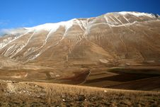 Free Castelluccio / Mountain And Fields Detail 2 Royalty Free Stock Images - 1706589