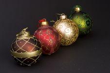 Free Christmas Balls Stock Photos - 1707683