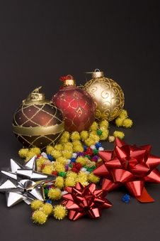 Free Christmas Balls Stock Photos - 1707713