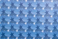 Free Stars In Blue Background Stock Photography - 1708162