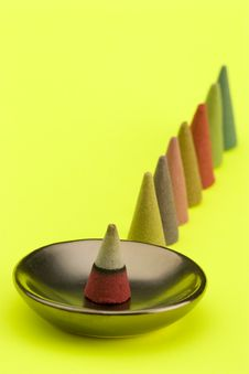 Free Incense Cones Royalty Free Stock Photos - 1708888