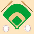 Free Baseball Background Royalty Free Stock Images - 17001889
