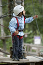 Free Little Boy In Adventure Park Royalty Free Stock Images - 17004789