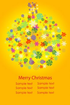 Free Colorful Christmas Ball Royalty Free Stock Image - 17000046
