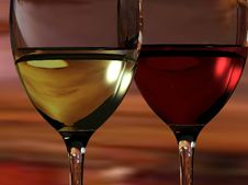 Free Wine Glasses Royalty Free Stock Images - 17000279