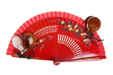 Free Fan With Castanets Royalty Free Stock Image - 17000686