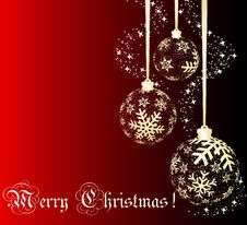 Free Christmas Ball Royalty Free Stock Images - 17000709