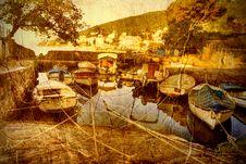 Free Creek In Opatija Royalty Free Stock Photo - 17000875