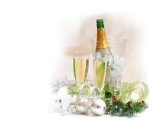 Free Champagne Royalty Free Stock Image - 17001066