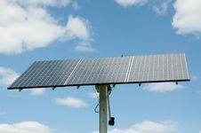 Free Photovoltaic Solar Panel Array - Renewable Energy Stock Photography - 17001072