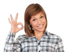 Free Portrait Teenage Girl Stock Image - 17001231