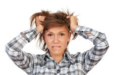 Free Portrait Teenage Girl Stock Images - 17001234