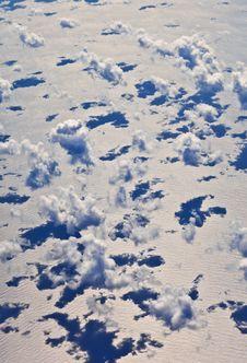 Free Puffy White Cloud Blue Sky Stock Photo - 17001600