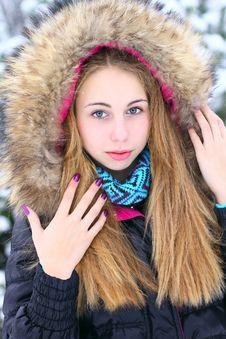 Free Winter Potrait Royalty Free Stock Photo - 17001825