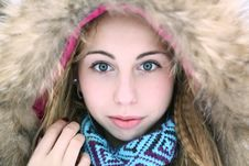 Free Winter Potrait Royalty Free Stock Images - 17001839