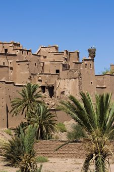Free Moroccan Kasbah. Royalty Free Stock Photos - 17001918