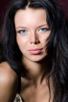 Free Glamour Woman Close-up Royalty Free Stock Photos - 17002158