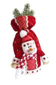 Free Toy  Snowman Stock Photo - 17003450