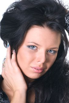 Free Glamour Woman Close-up Stock Photos - 17004043