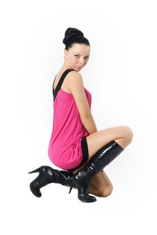 Free A Woman On Knees Is Sexua Royalty Free Stock Image - 17004086