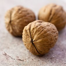 Free Walnuts Royalty Free Stock Photography - 17004637