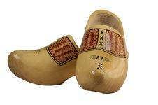 Wooden Shoe Royalty Free Stock Photography