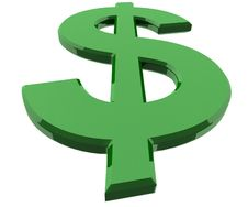 Free Dollar Icon Stock Photography - 17006132