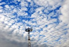 Free A Television Tower. Royalty Free Stock Images - 17006749