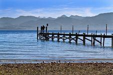 Free Jetty At Lake Chiemsee Royalty Free Stock Image - 17007796