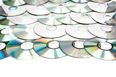 Free CDs Royalty Free Stock Photo - 17007805