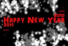 Free New Year 2011 Stock Image - 17008041